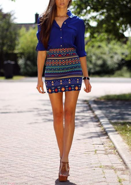 skirts for rectangular body type