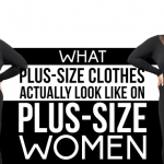 trend of plus size clothing