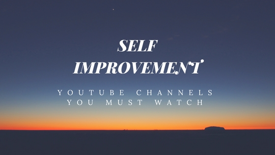 self improvement youtube channels to watch